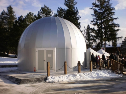 DOME FOR EXTERNAL LOCATION - ColumbiaOptics